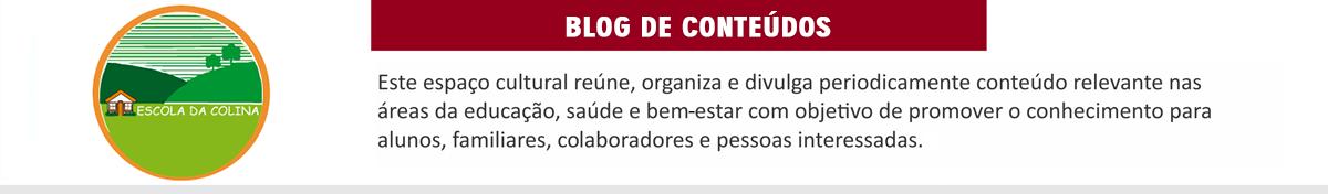 Blog Escola da Colina