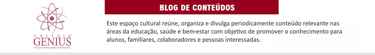Blog Colégio Genius