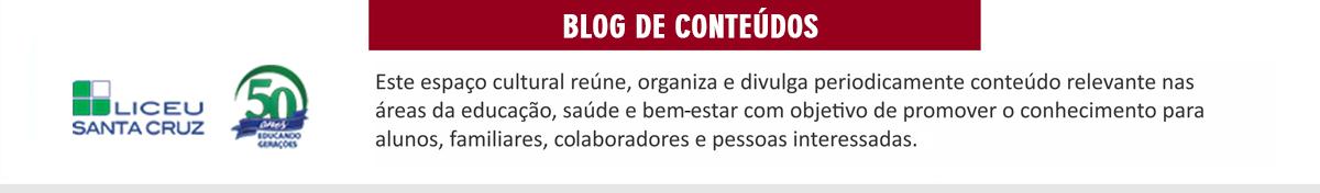 Blog Liceu Santa Cruz