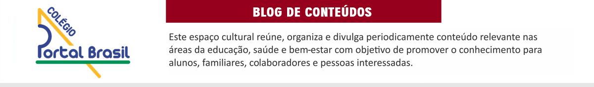 Blog Colégio Portal Brasil