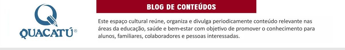 Blog Escola Quacatú